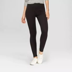 A New Day Womens Leggings, S, Gray - 91% Rayon